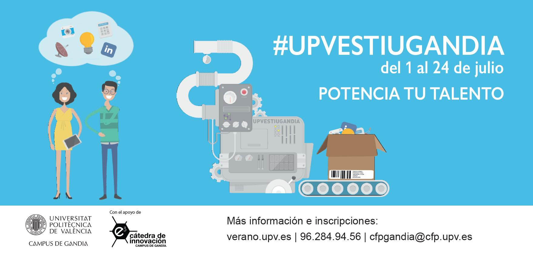 UPV VERANO GANDIA 2014  Formación para Emprender  d3e10da8bbf
