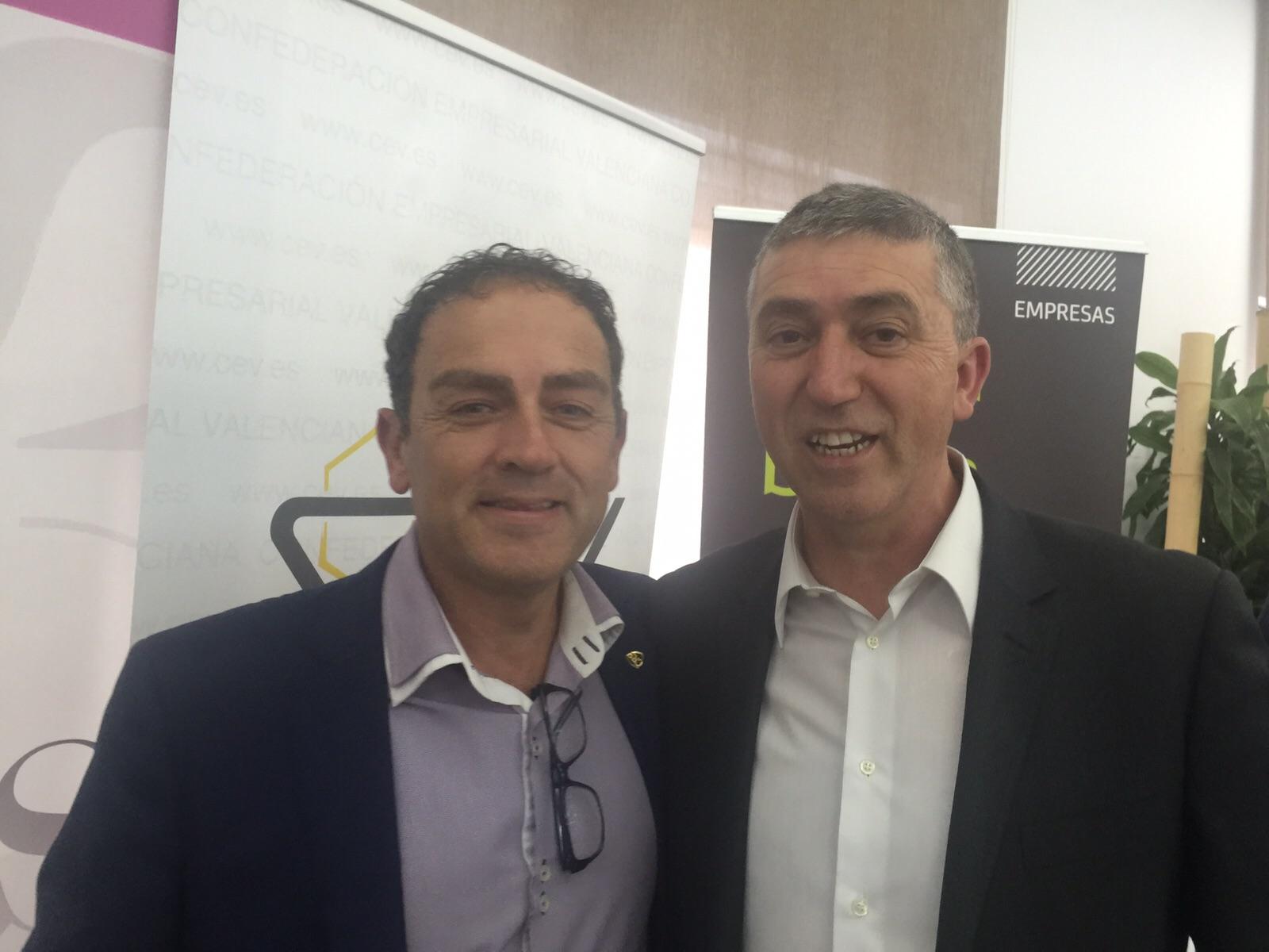 Javier Rocher y Rafa Climent