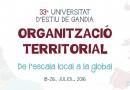 La Universitat d'Estiu de Gandia obri el termini per a la inscripció dels 21 cursos de la 33 edició