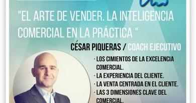 """NWS4 trae el 13 de septiembre a César Piqueras a Gandia para profundizar en """"el arte de vender"""""""