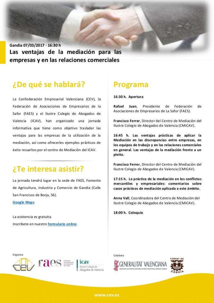 Programa jornada 07-03-2017