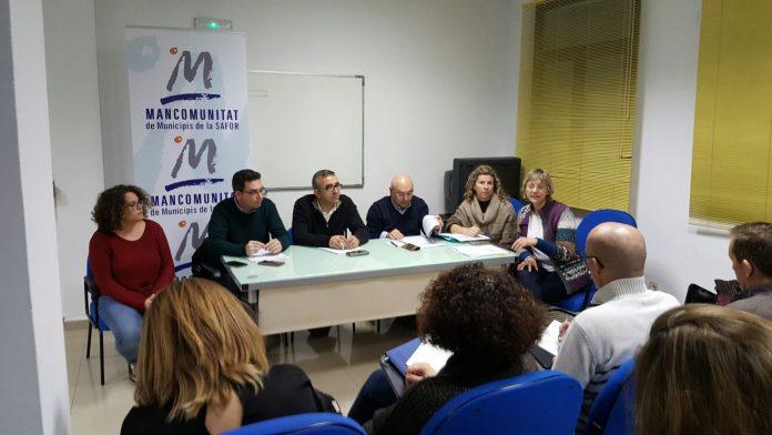 La Mancomunitat, ajuntament de Gandia, FAES i sindicats posen en marxa l'Acord Territorial per l'Ocupació a la Safor