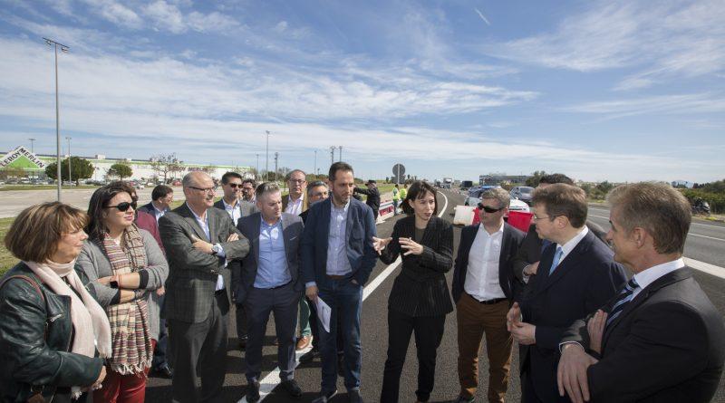 FAES i AECiT celebren la inauguració del nou accés al polígon Benieto