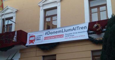 FAES muestra su apoyo a la concentración organizada por Oliva para exigir el Tren de la Costa