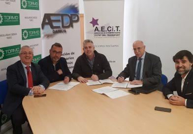 AECiT firma un convenio de colaboración con Recobrarte