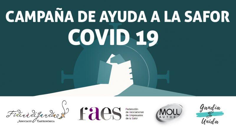 Campaña de ayuda a la Safor COVID-19